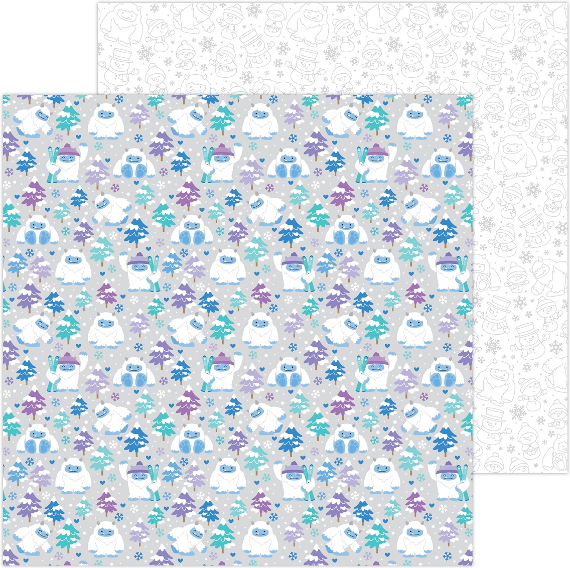 Doodlebug Winter Wonderland - Yeti For Winter