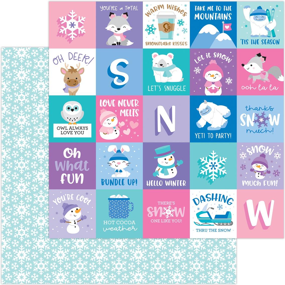 Doodlebug Winter Wonderland - Snow Much Fun