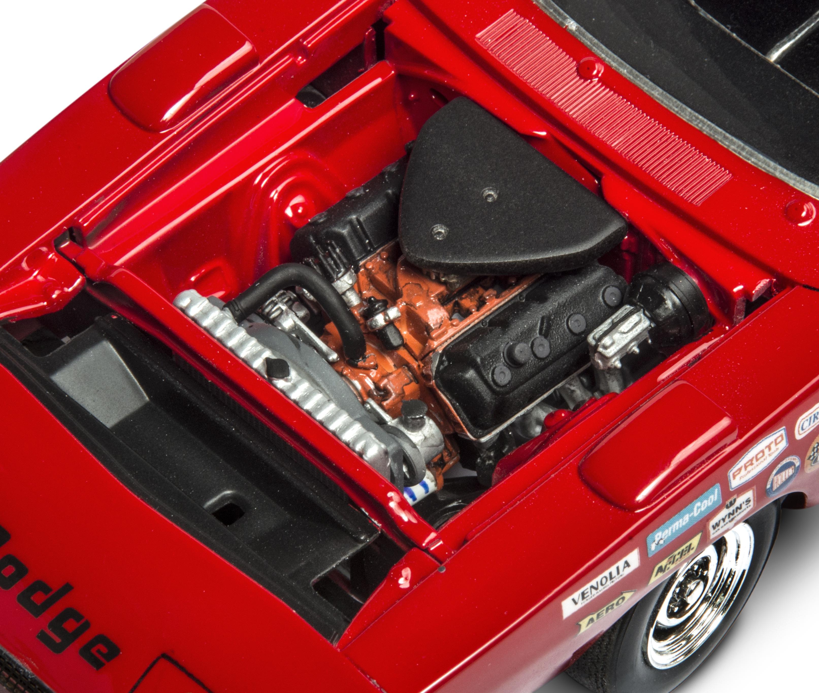 Plastic Model Kit-'69 Dodge Charger Daytona 1:25