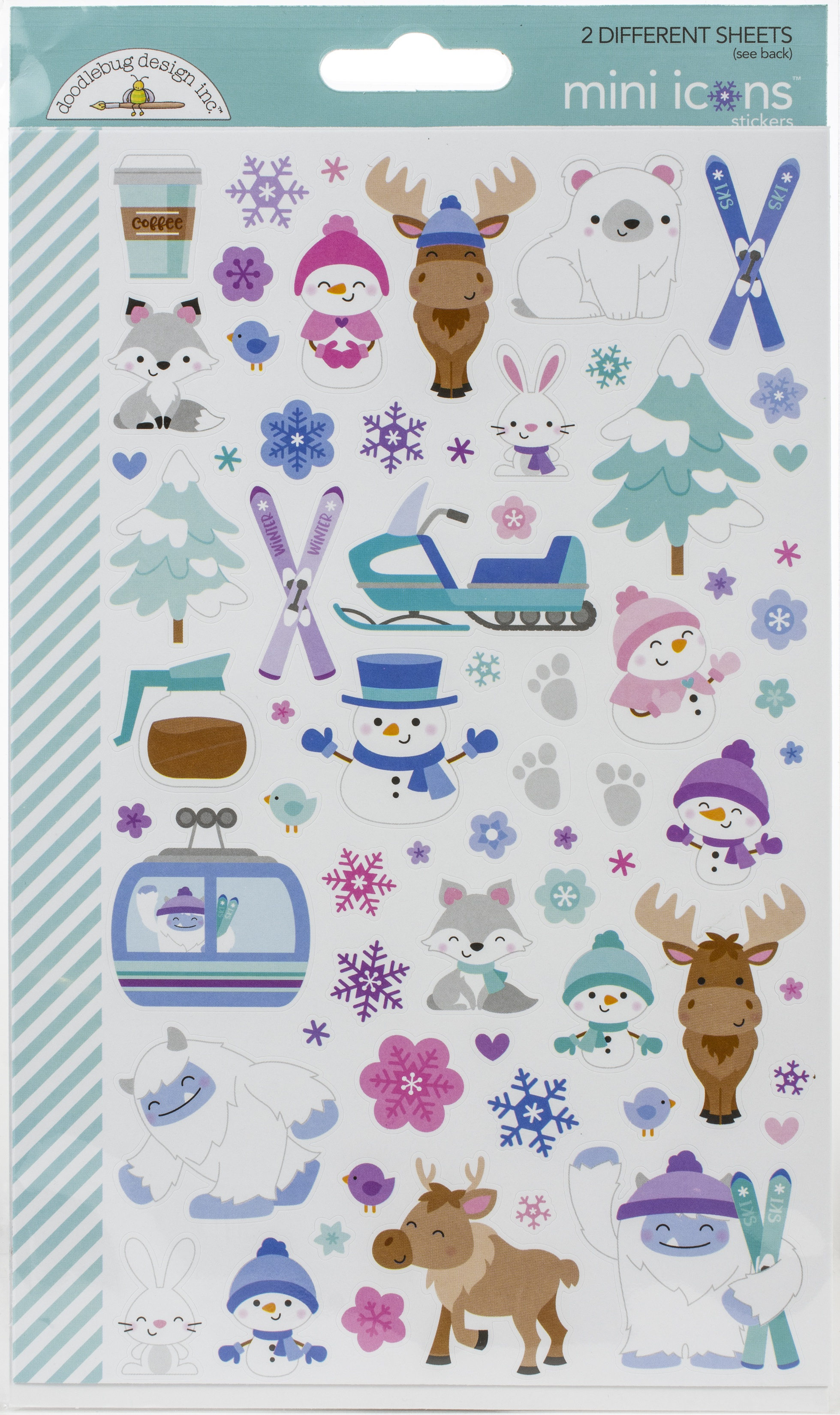 DB Stickers Winter Wonderland Mini Icons