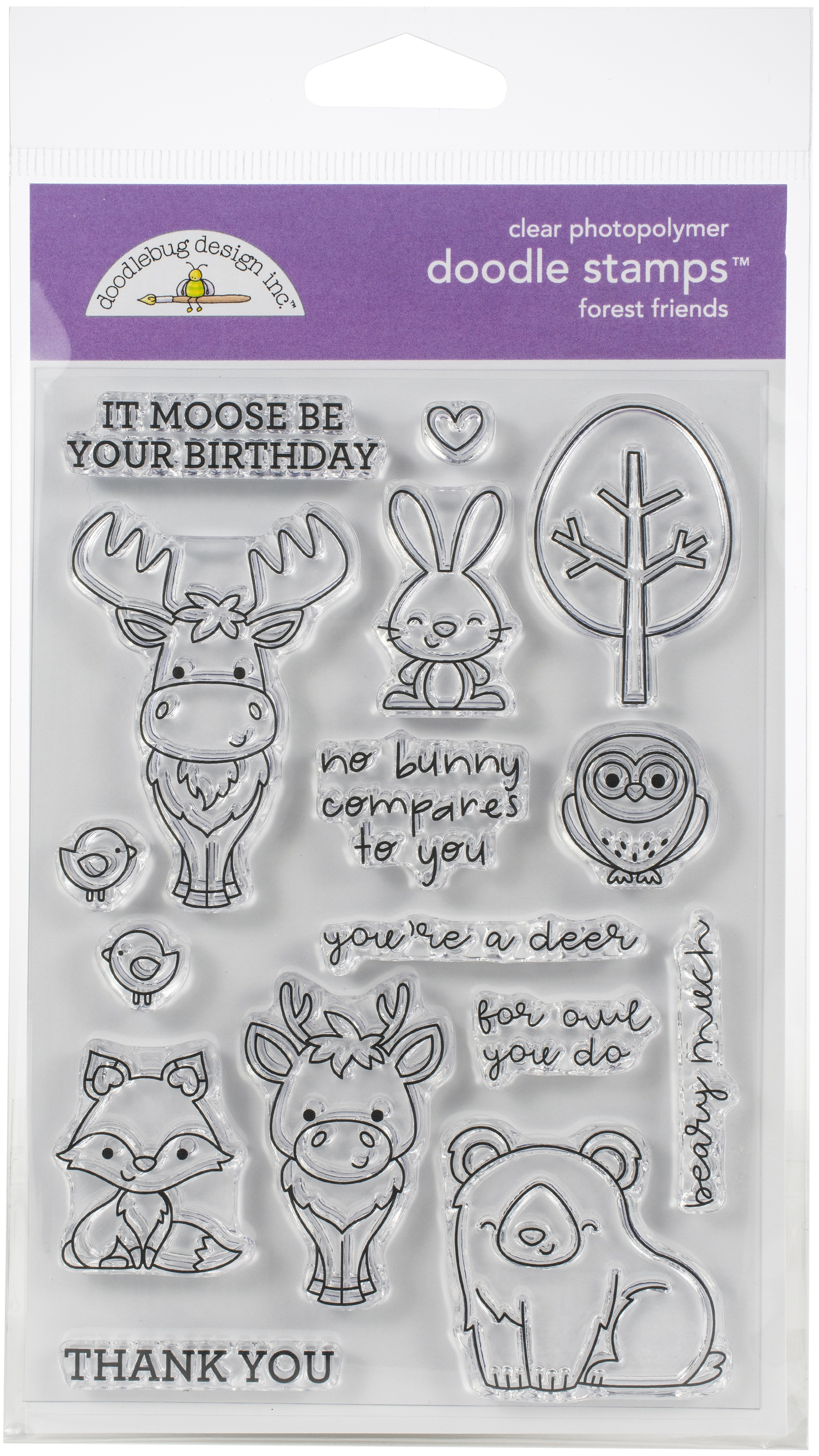 Winter Wonderland Forest Friends Stamp Set