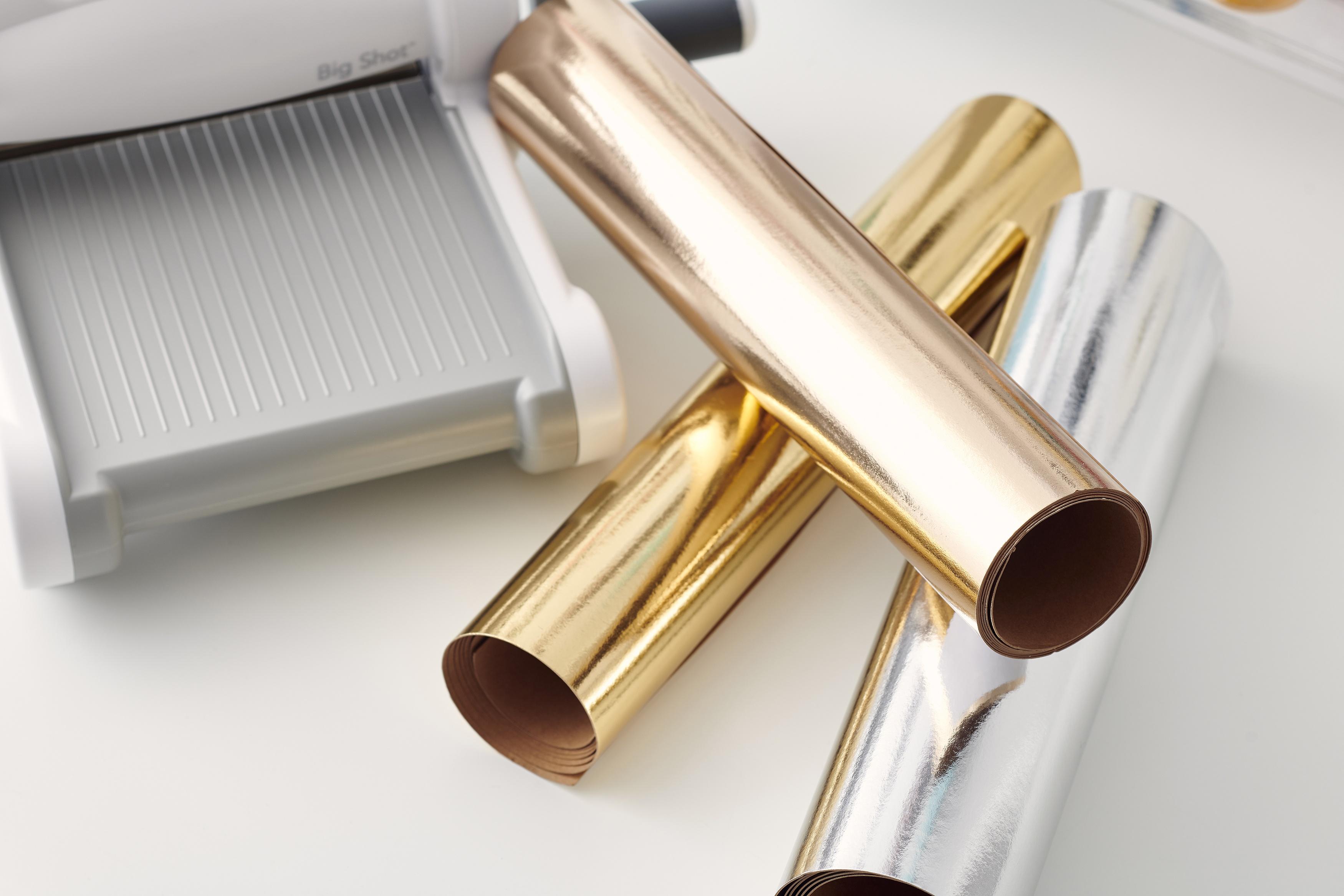 Sizzix Surfacez Texture Roll 12X48-Gold