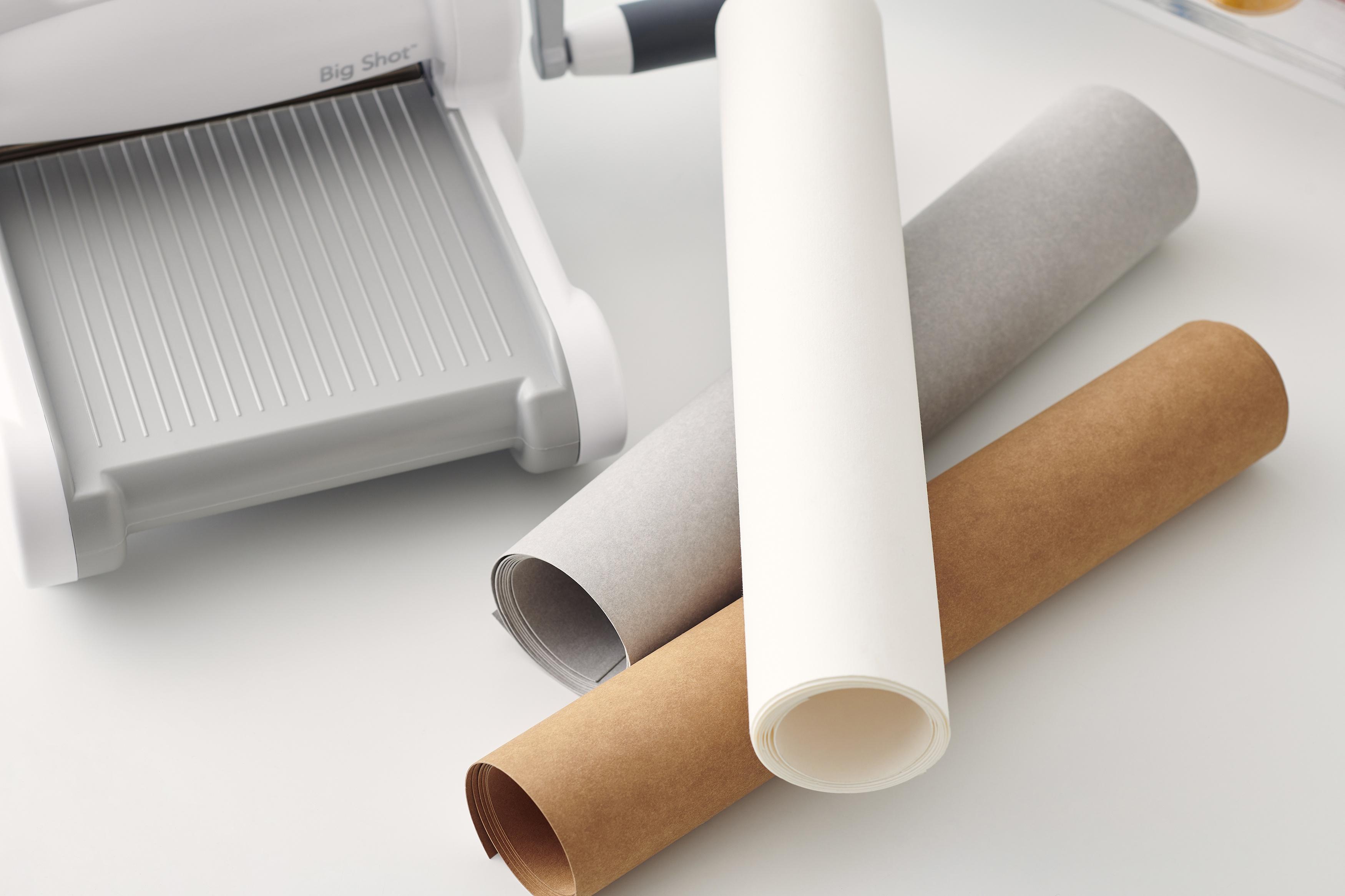 Sizzix Surfacez Texture Roll 12X48-Tan