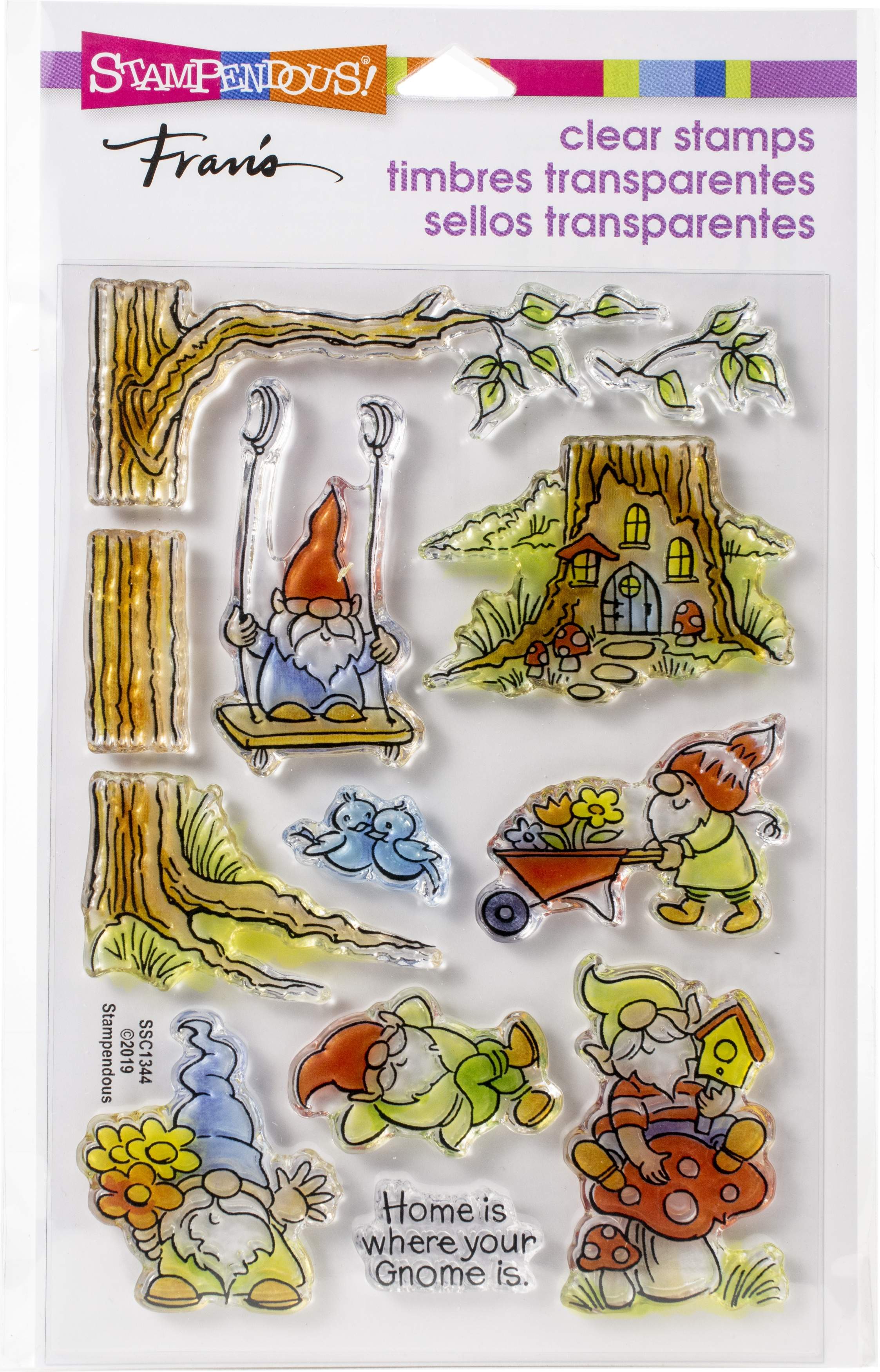 Stampendous Clear Stamps - Gnoming Around (CLEARANCE)