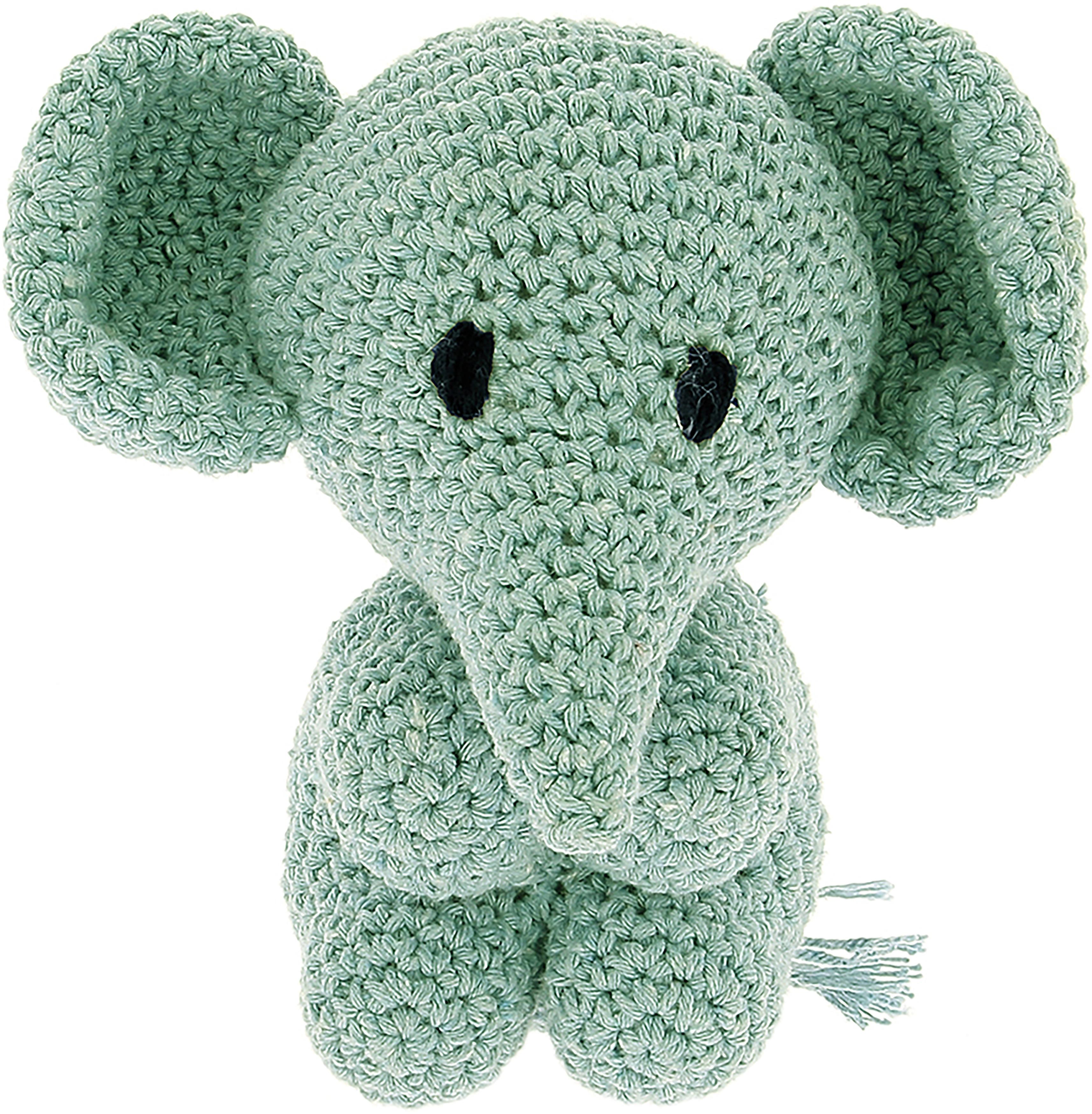 Hoooked Elephant Mo Yarn Kit W/Eco Barbante Yarn