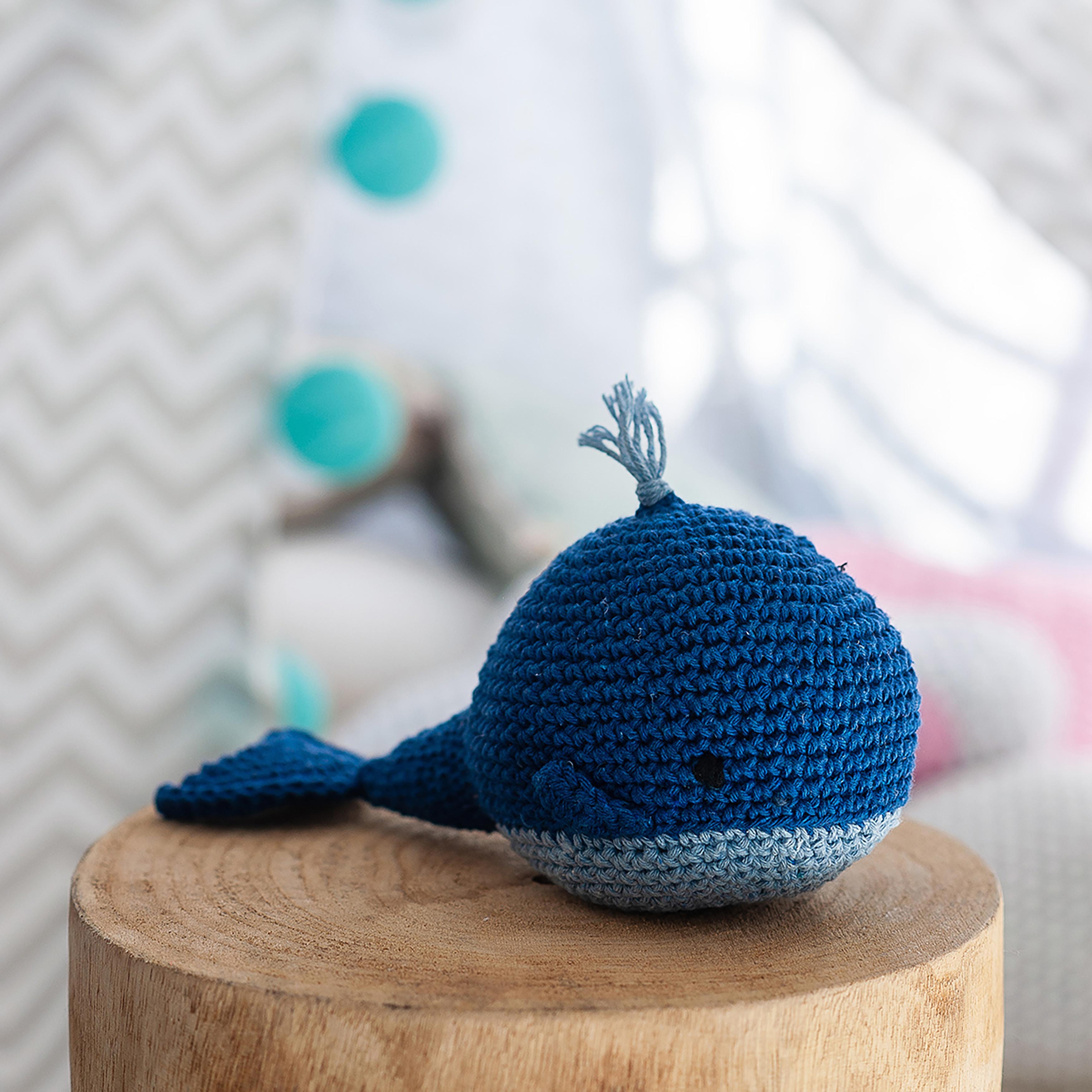 Hoooked Whale Pepper Yarn Kit W/Eco Barbante Yarn