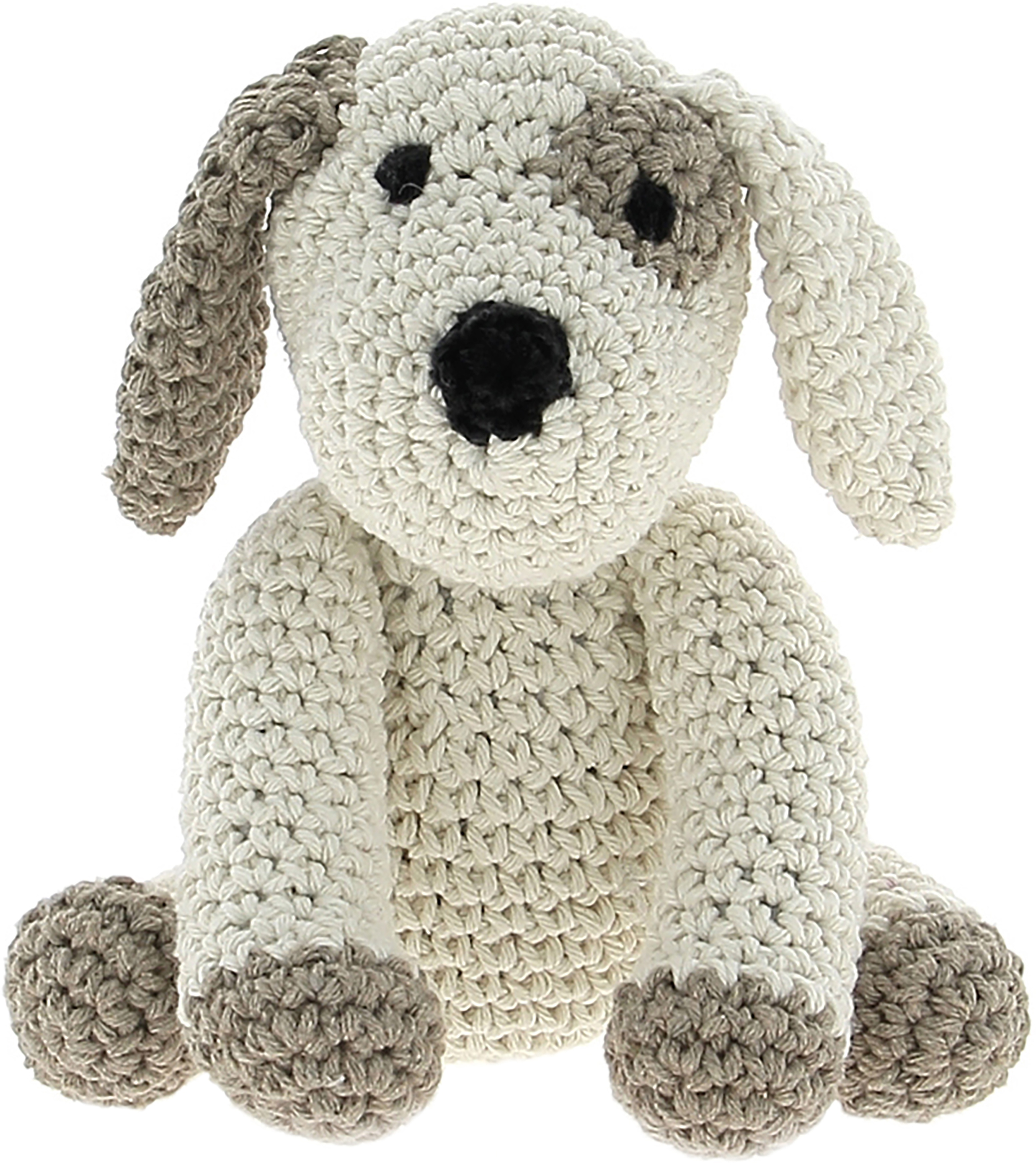 Hoooked Puppy Millie Yarn Kit W/Eco Barbante Yarn-