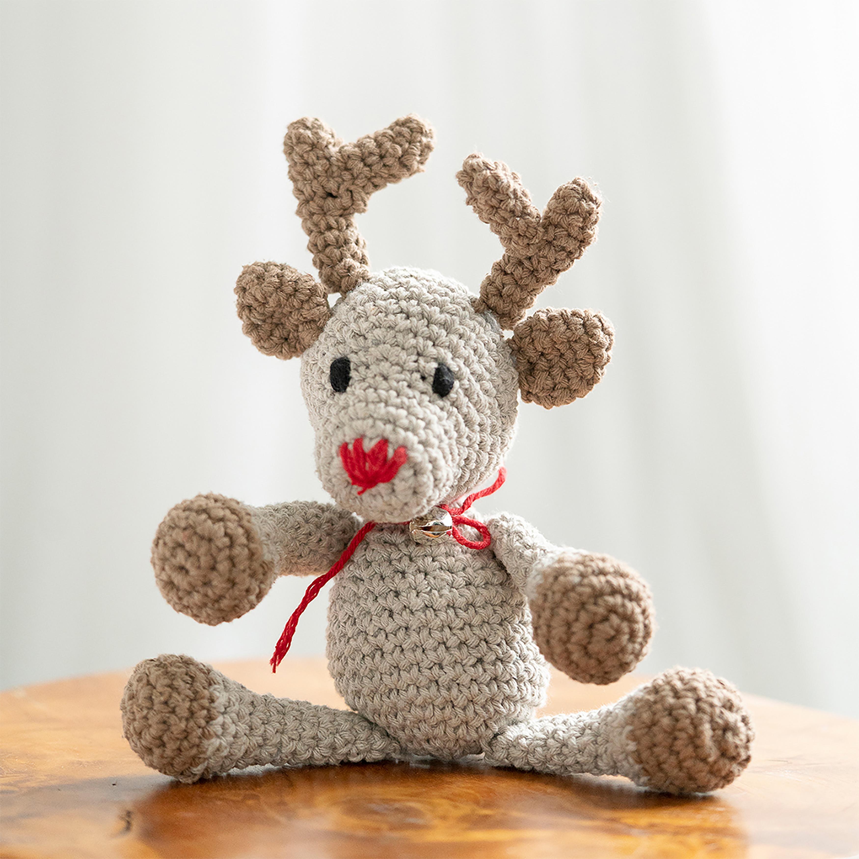 Hoooked Reindeer Rue Yarn Kit W/Eco Barbante Yarn-