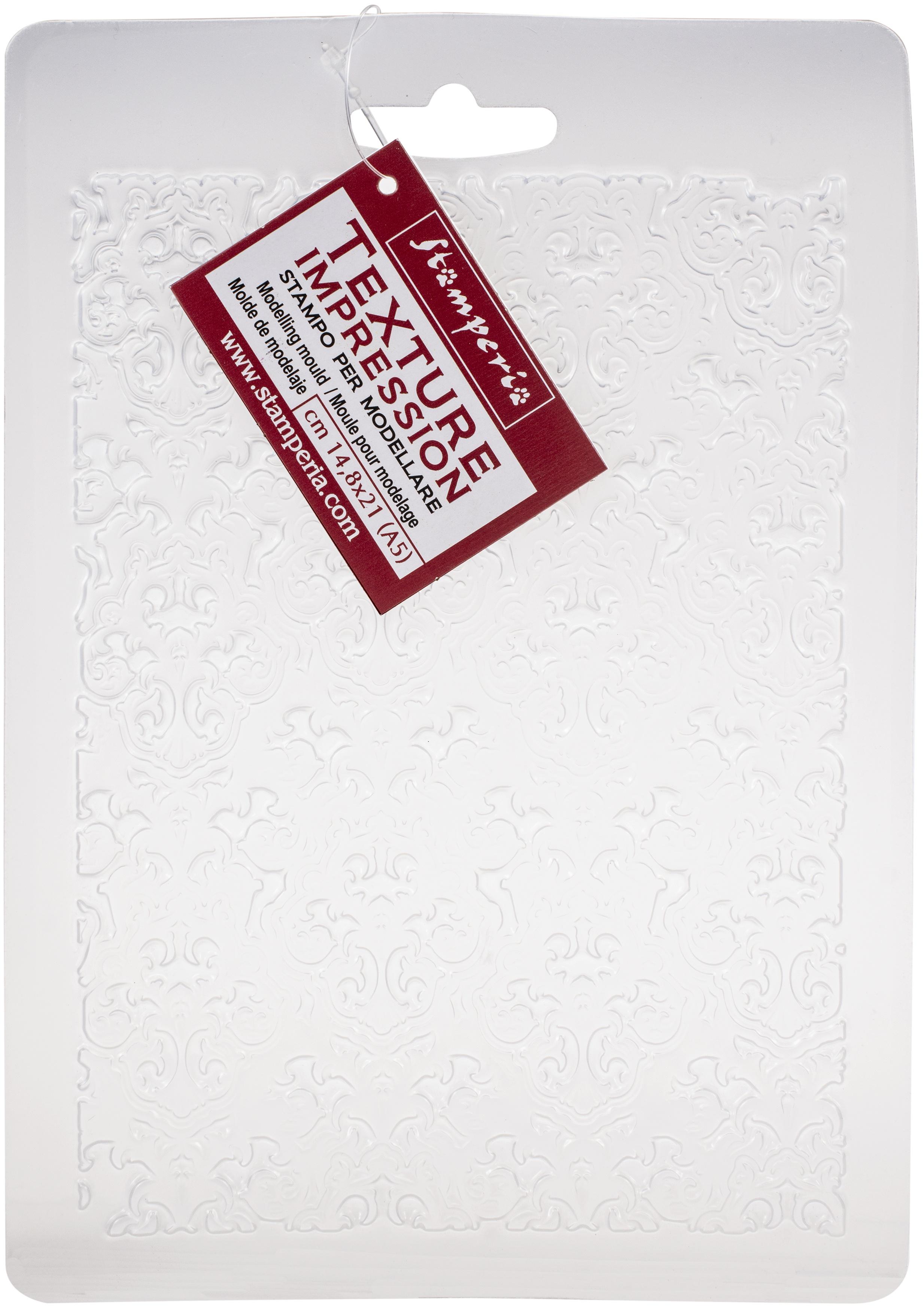 Stamperia Soft Maxi Mould A5-Wallpaper