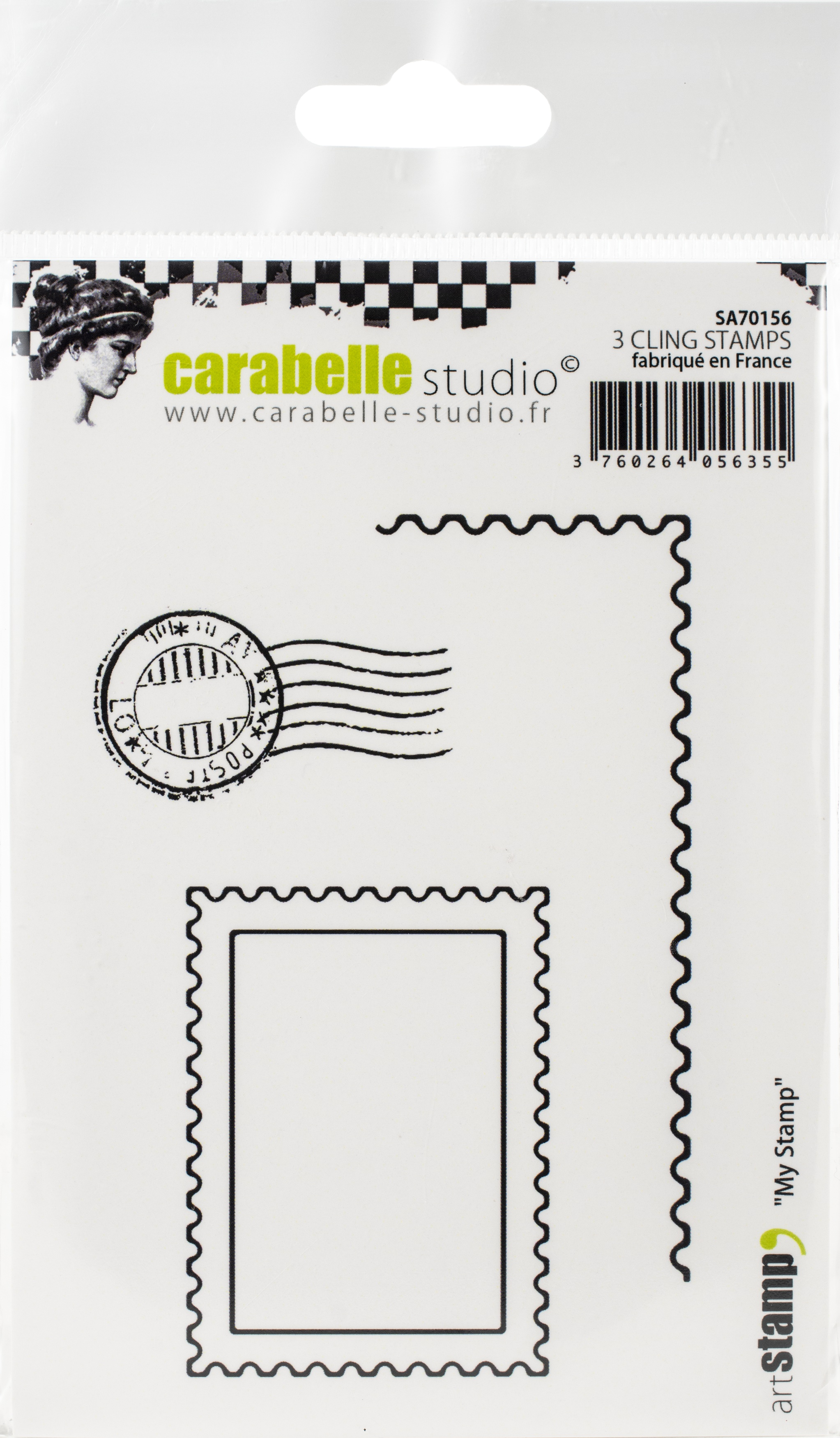 Carabelle Studio Cling Stamp A7-My Stamp