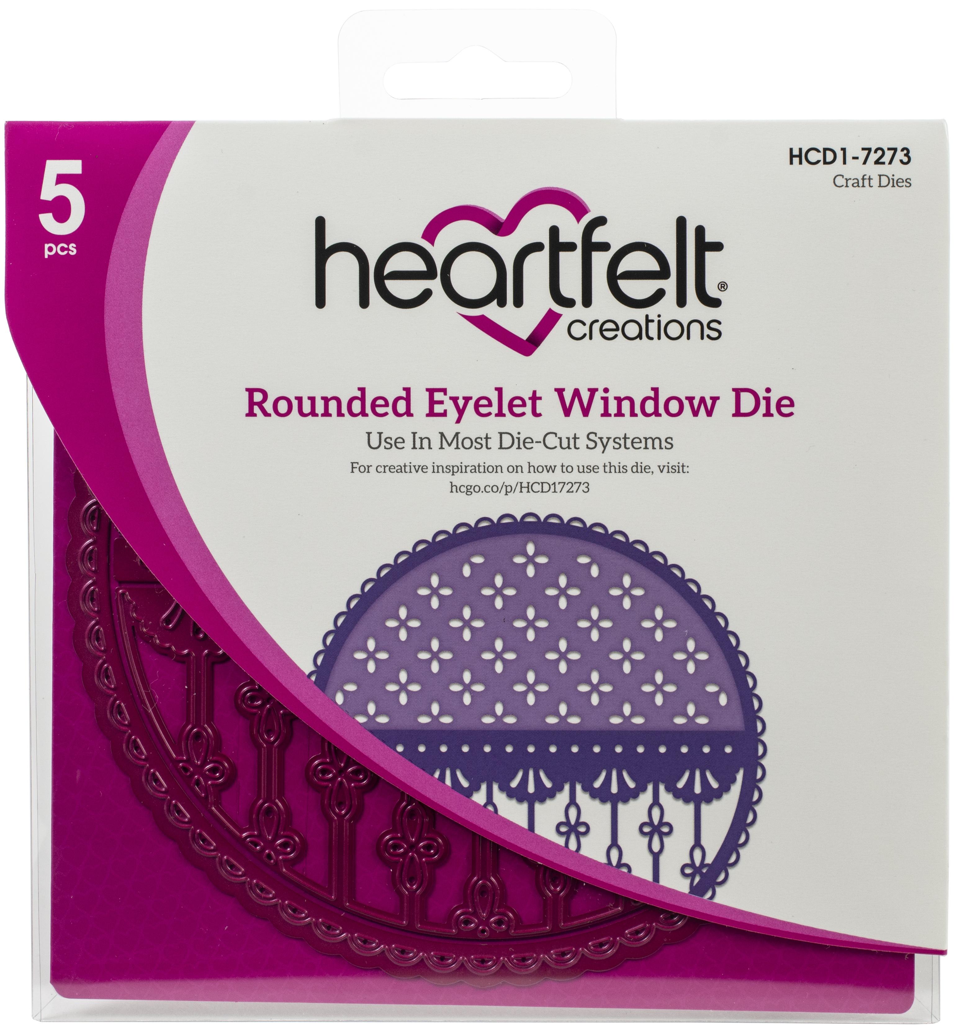 Rounded Eyelet Window Die