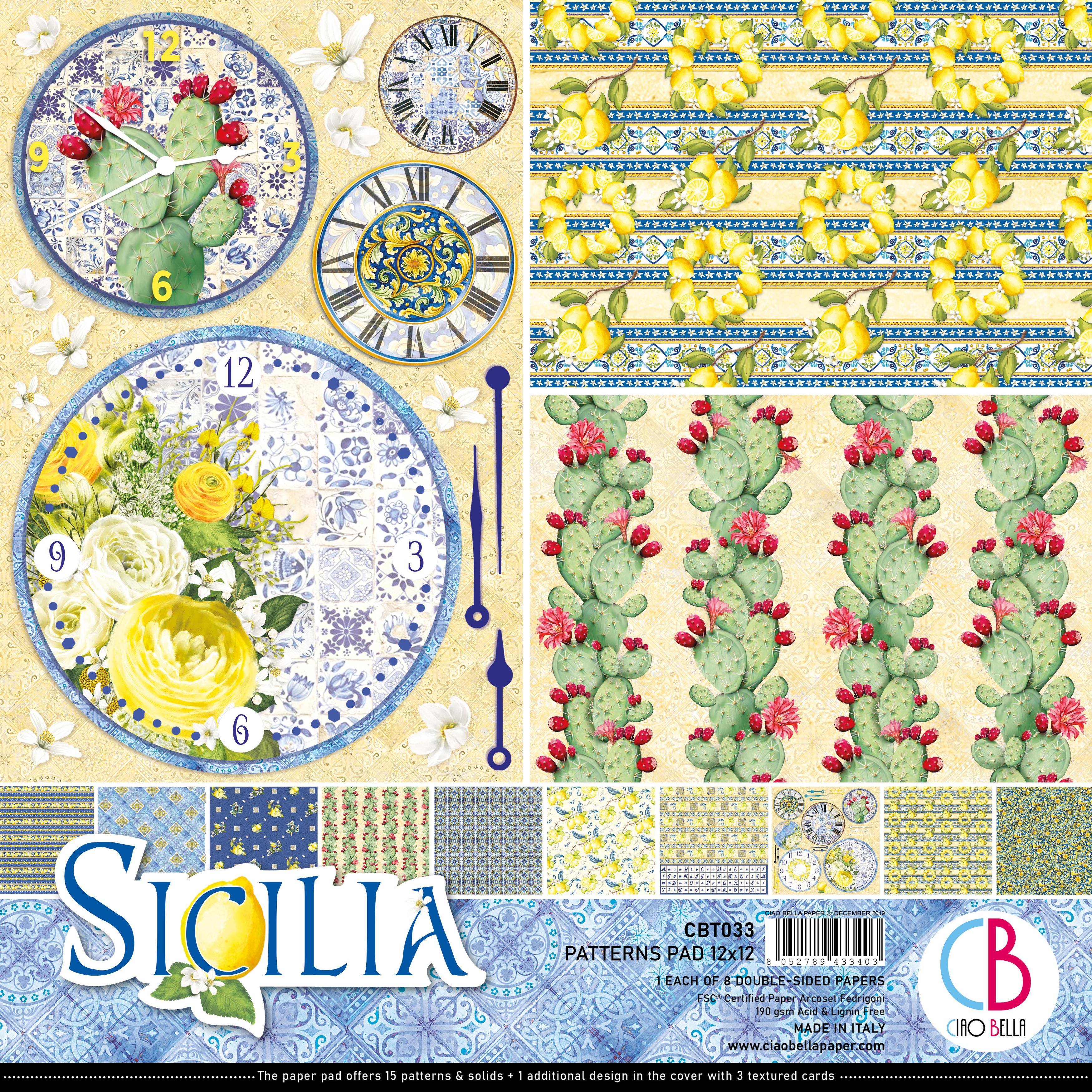 Sicilia Paper Pack 90lb 12X12