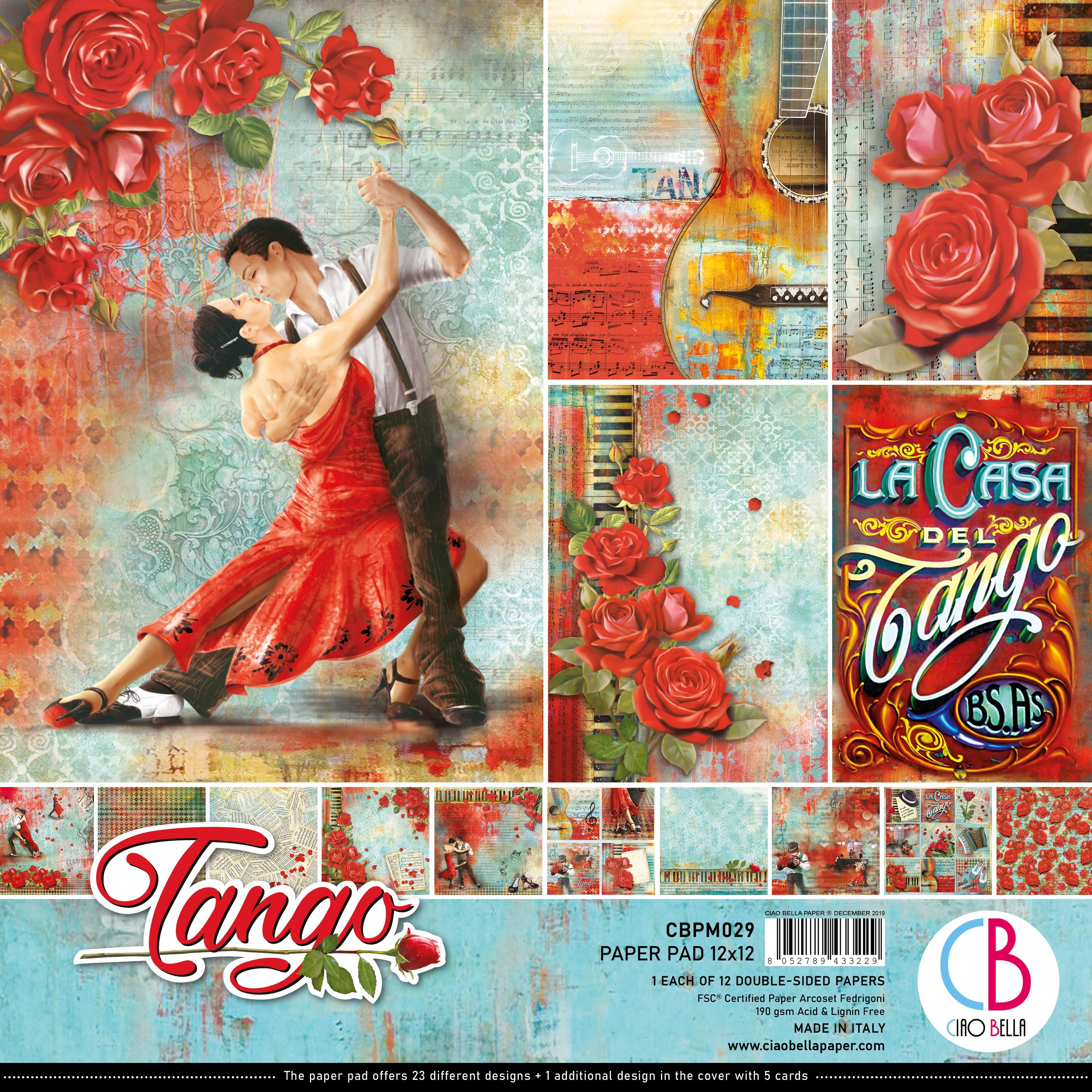 Tango Paper Pack 90lb 12X12