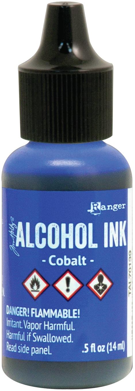 PREORDER Tim Holtz Alcohol Ink .5oz-Cobalt