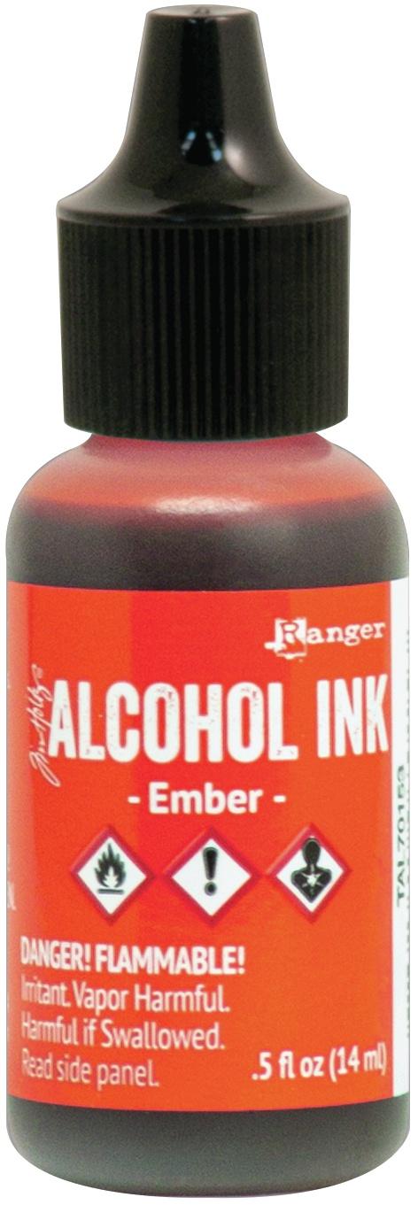 Alcohol Ink - Ember