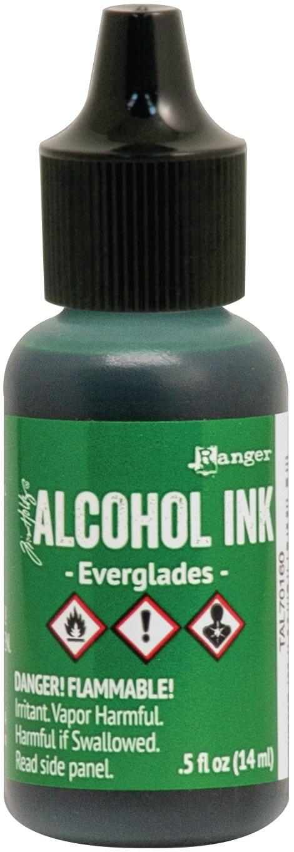 Tim Holtz Alcohol Ink .5oz-Everglades