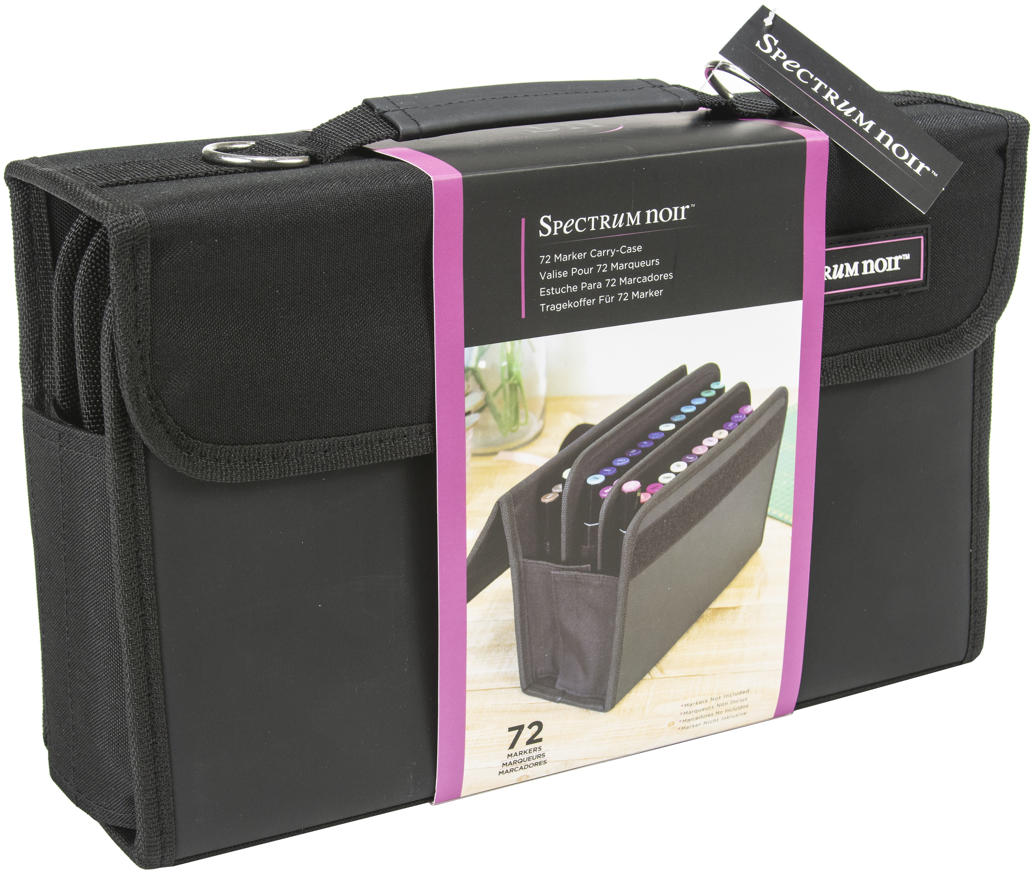 Spectrum Noir Marker Carry Case-Holds 72
