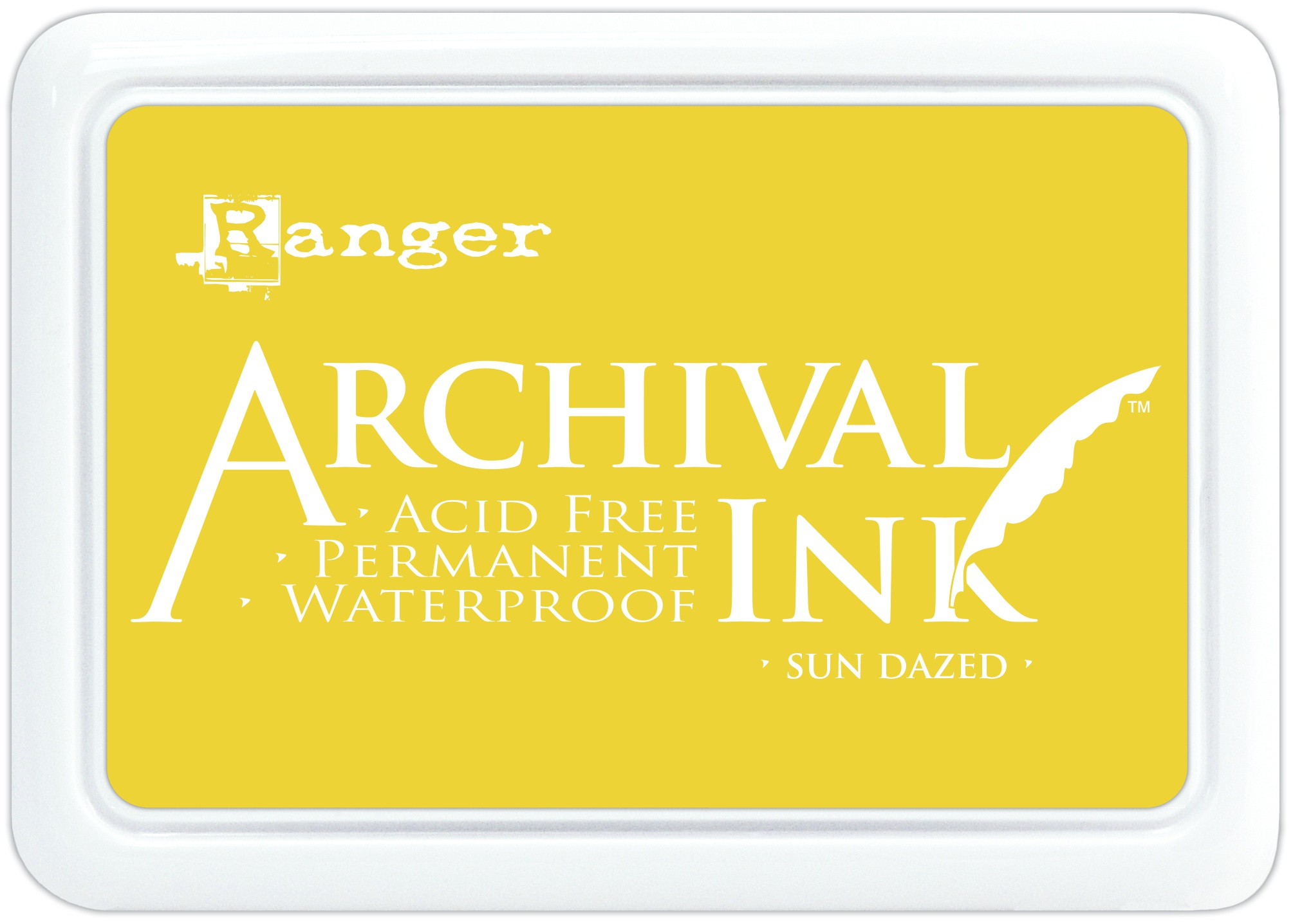 Ranger Archival Ink Pad #0-Sun Dazed