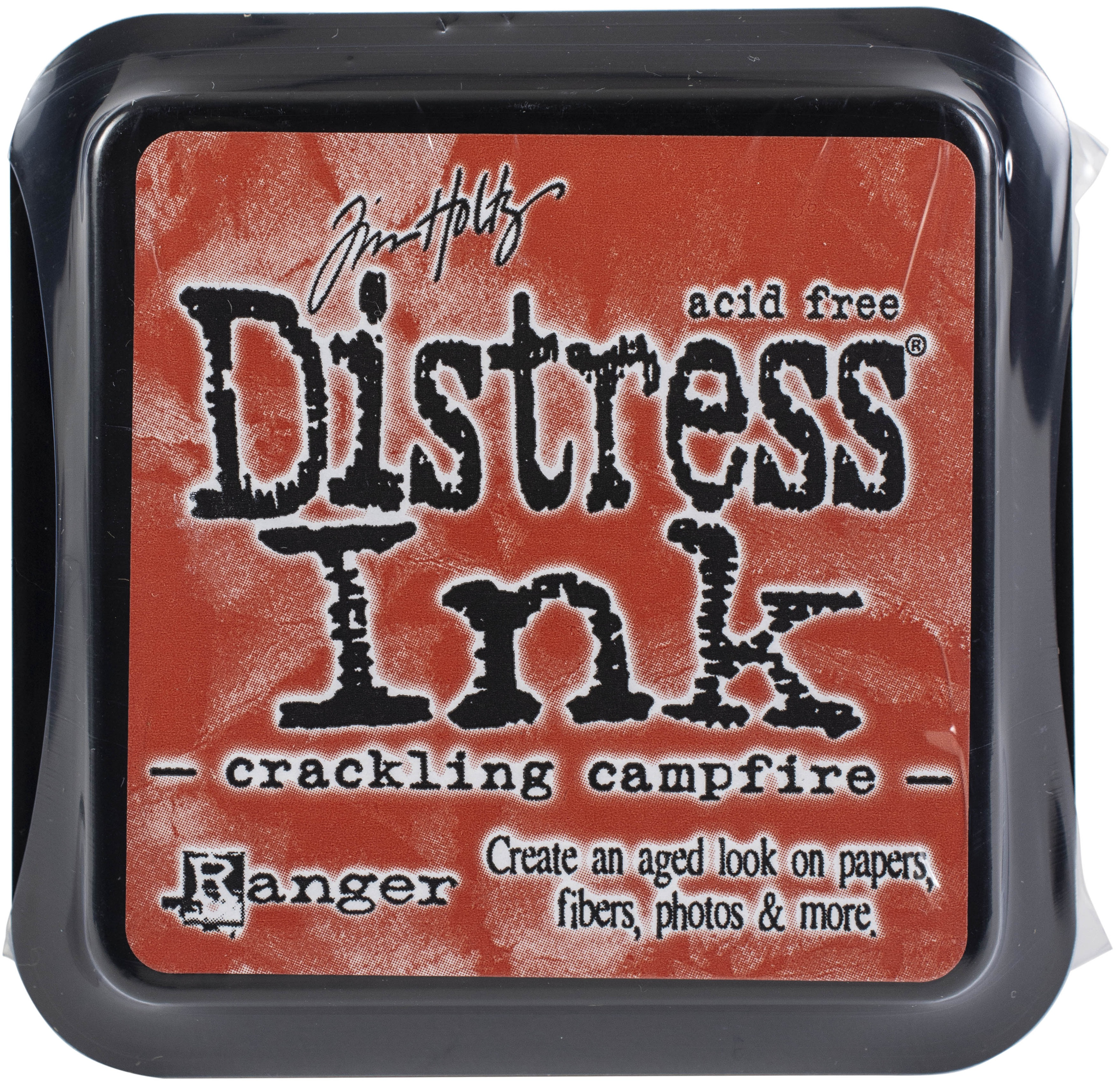 Tim Holtz Distress Ink Pad-Crackling Campfire