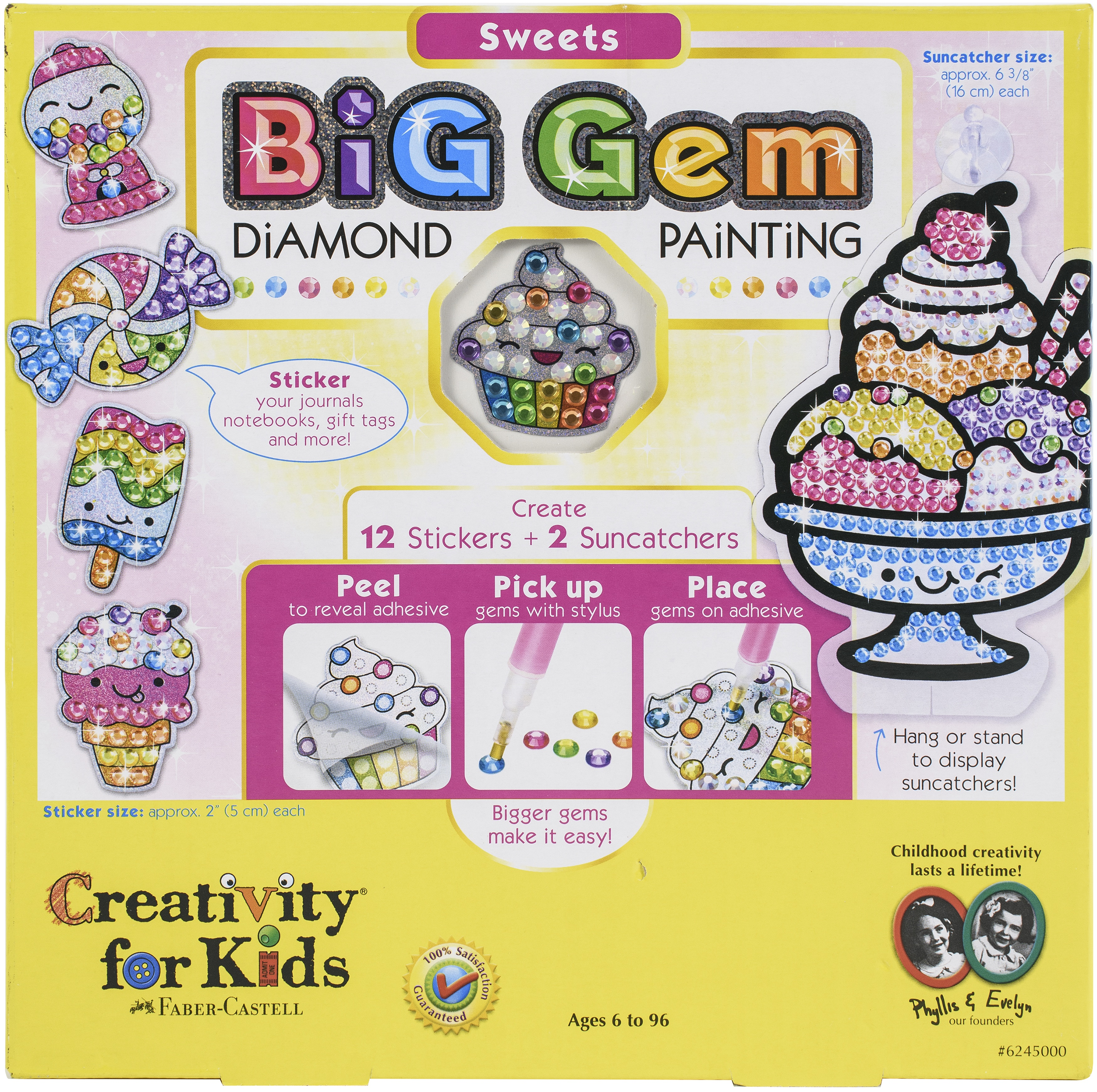 Big Gem Diamond Painting-Sweets