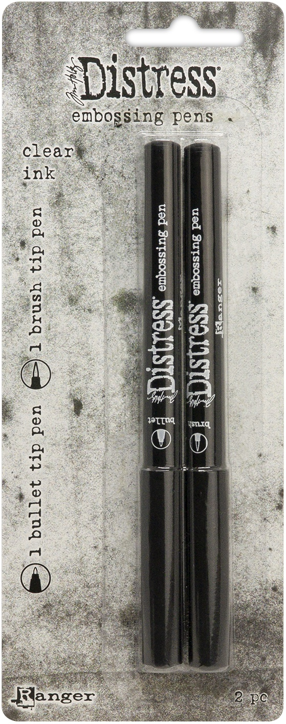 Tim Holtz Distress Embossing Pen 2/Pkg-