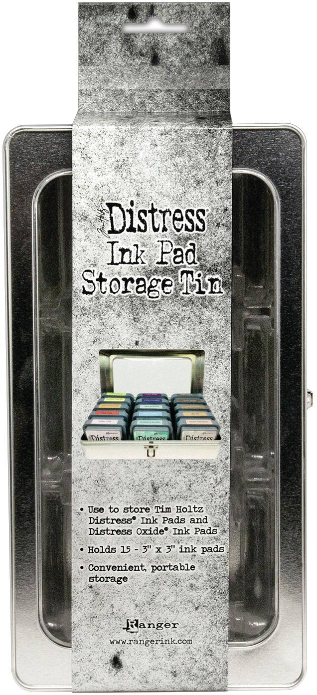 Tim Holtz Distress Ink Pad Tin -
