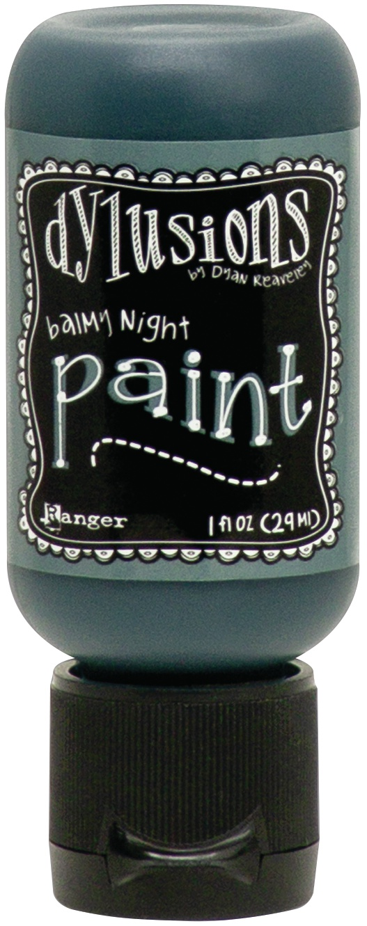 Dylusions Acrylic Paint 1oz-Balmy Night