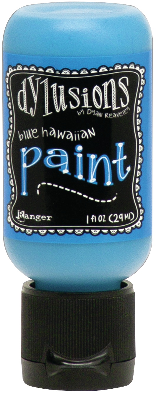 Dylusions Acrylic Paint 1oz-Blue Hawaiian