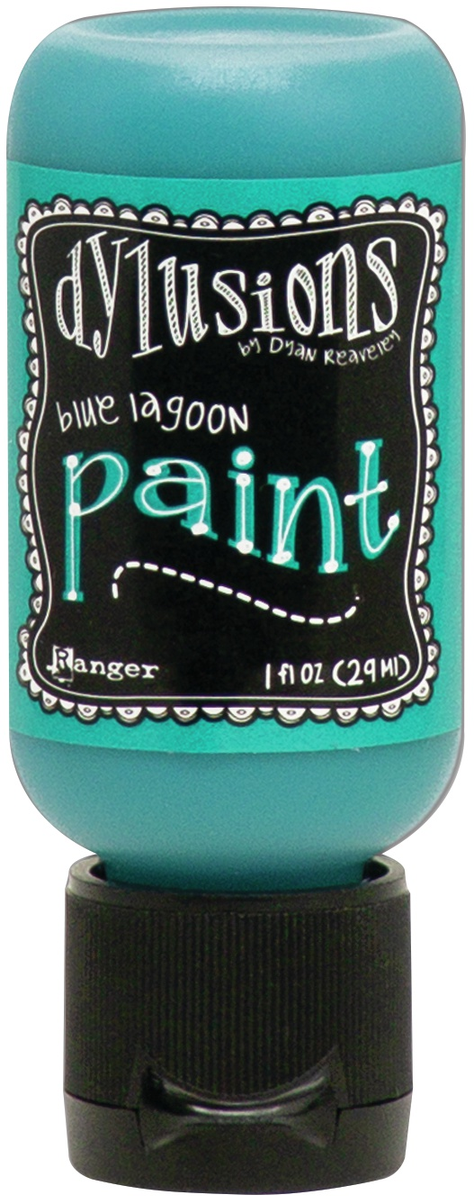 Dylusions Acrylic Paint 1oz-Blue Lagoon