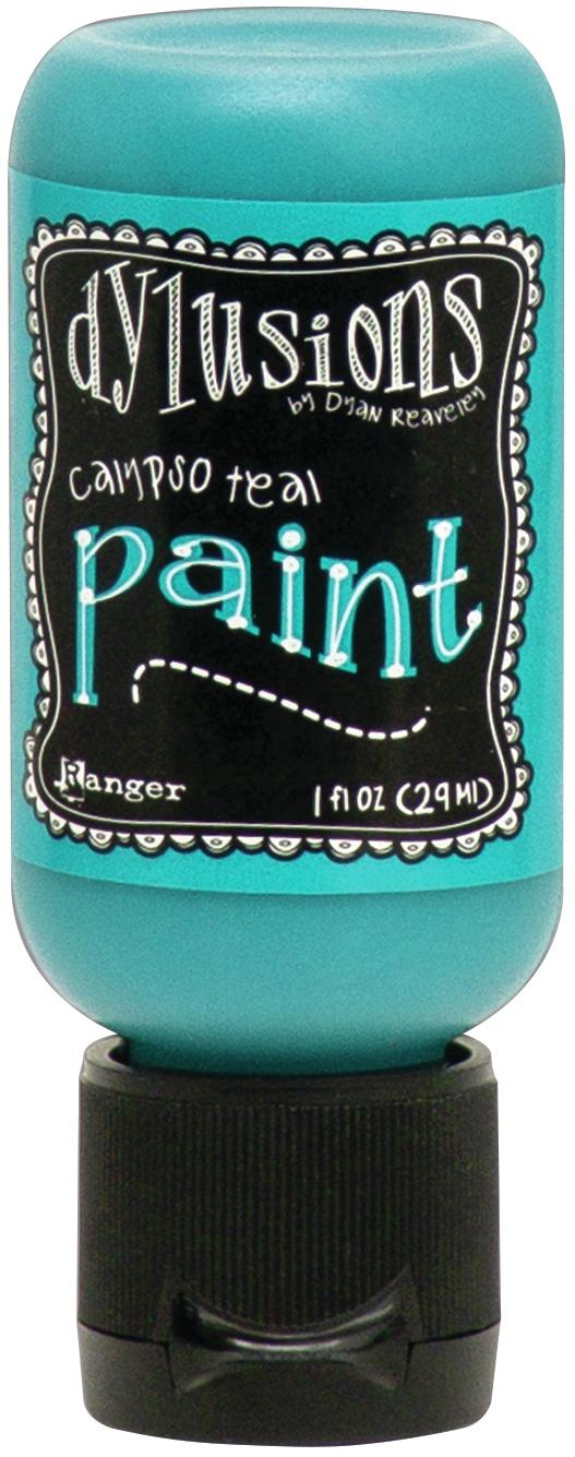 Dylusions Acrylic Paint 1oz-Calypso Teal