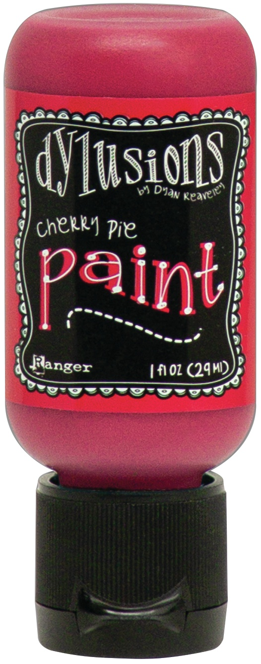 Dylusions Acrylic Paint 1oz-Cherry Pie