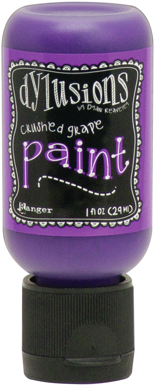 Dylusions Acrylic Paint 1oz-Crushed Grape