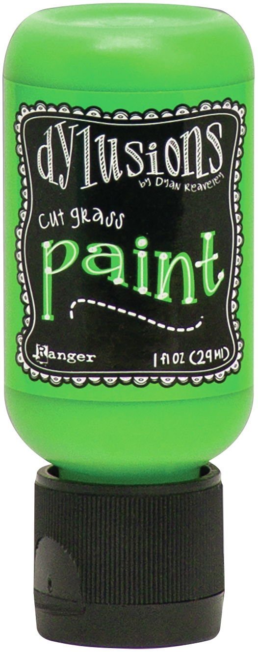 Dylusions Acrylic Paint 1oz-Cut Grass
