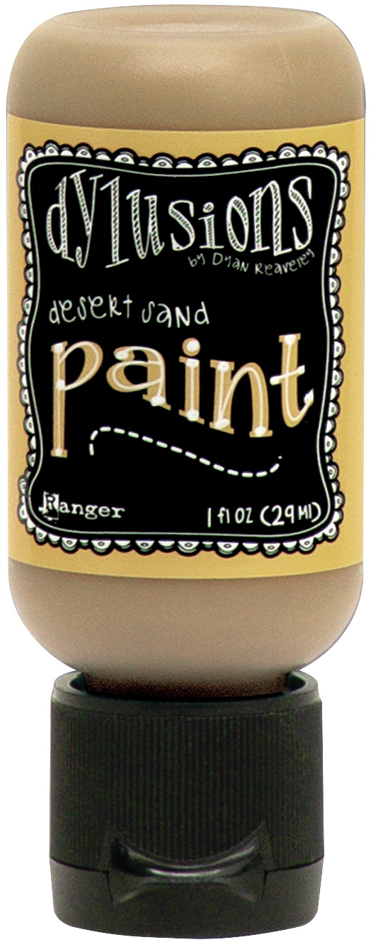 Dylusions Acrylic Paint 1oz-Desert Sand