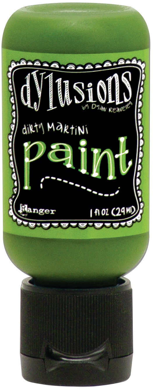 Dylusions Acrylic Paint 1oz-Dirty Martini