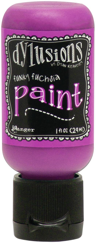Dylusions Acrylic Paint 1oz-Funky Fuchsia