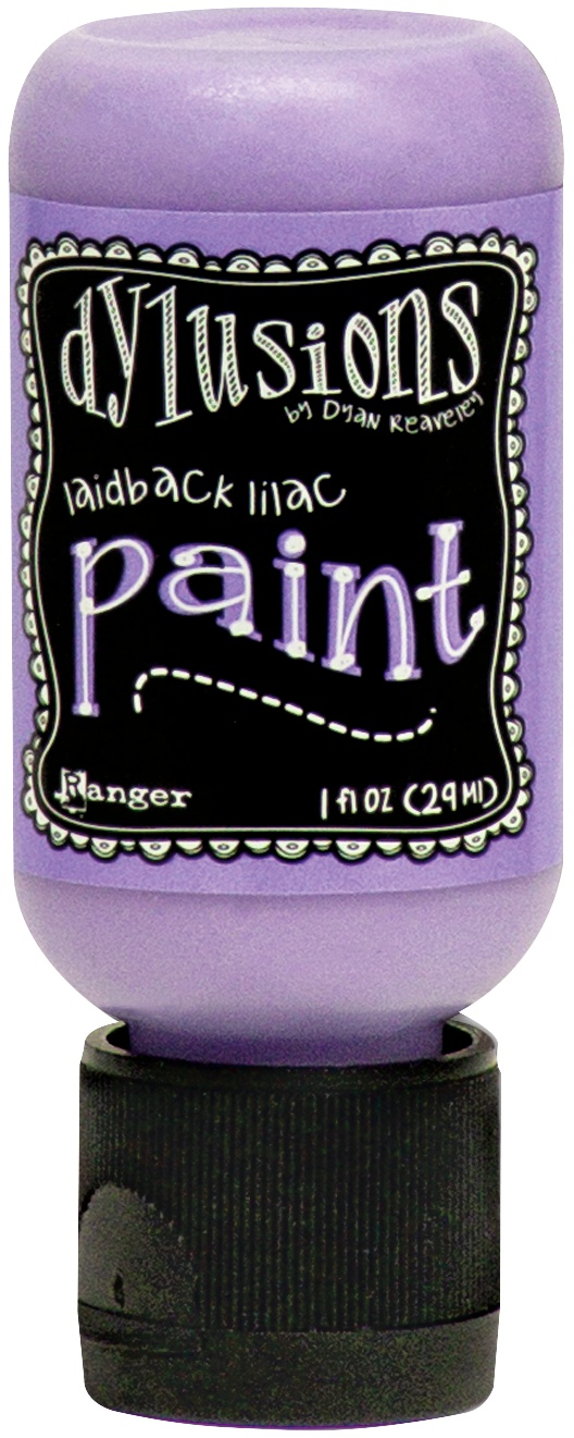 Dylusions Acrylic Paint 1oz-Laidback Lilac