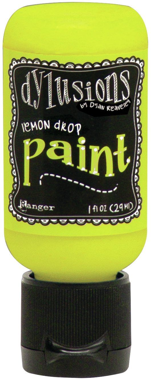 Dylusions Acrylic Paint 1oz-Lemon Drop