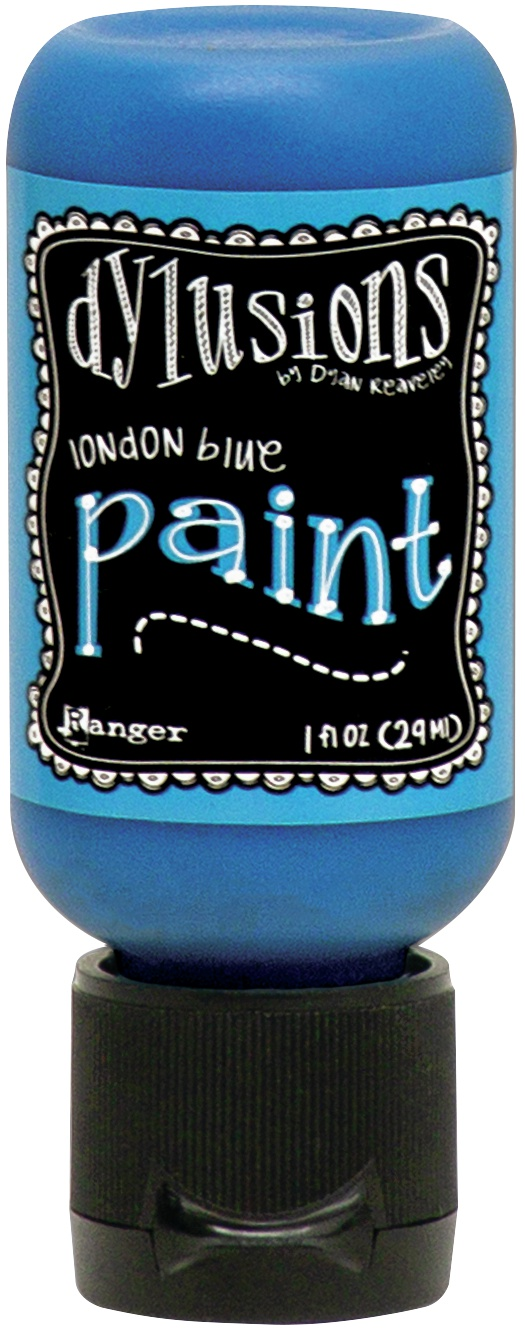 Dylusions Acrylic Paint 1oz-London Blue