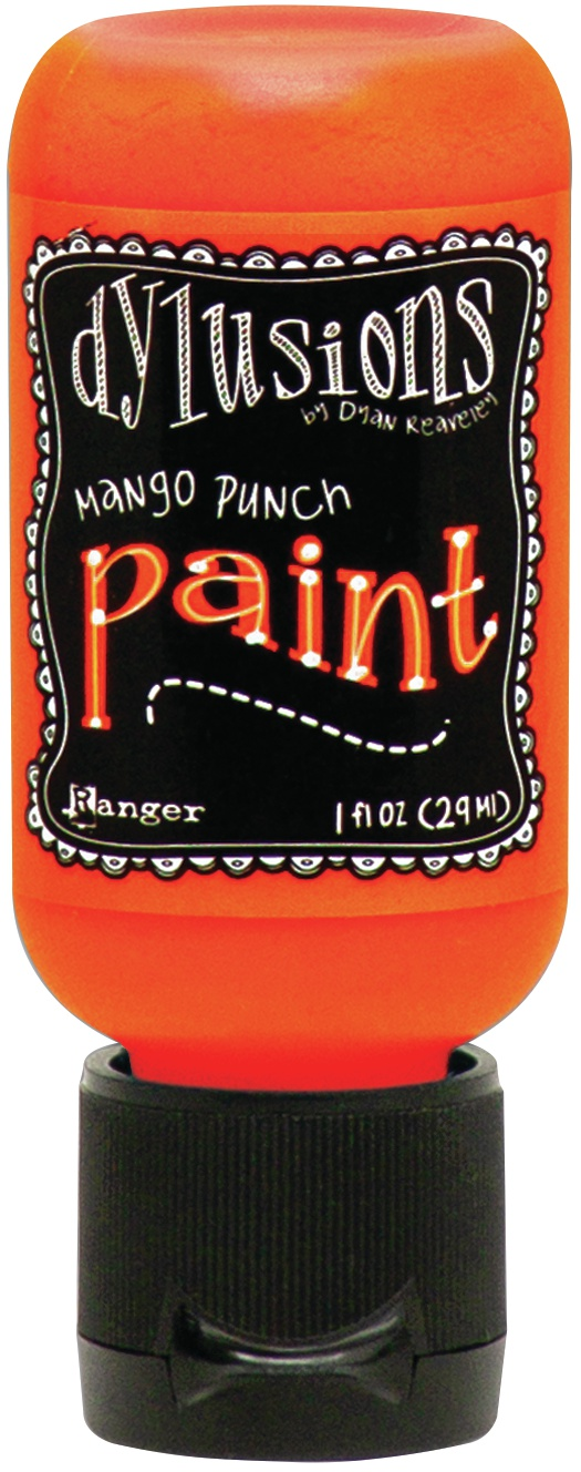 Dylusions Acrylic Paint 1oz-Mango Punch