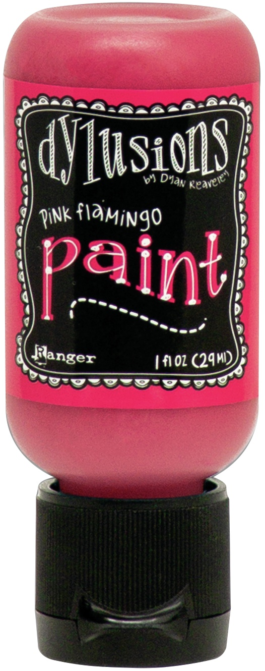 Dylusions Acrylic Paint 1oz-Pink Flamingo