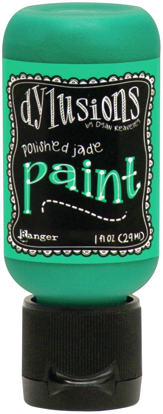 Dylusions Acrylic Paint 1oz-Polished Jade