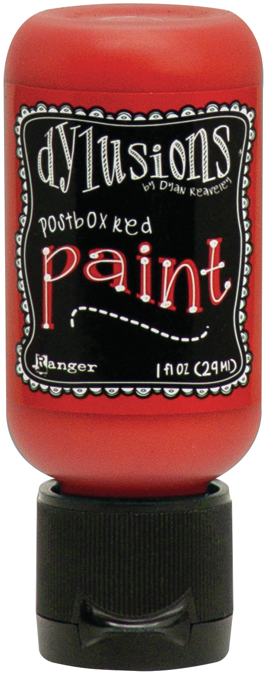 Dylusions Acrylic Paint 1oz-Postbox Red