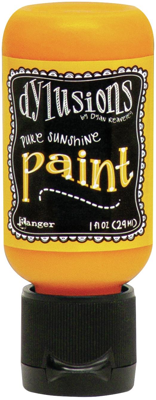 Dylusions Acrylic Paint 1oz-Pure Sunshine