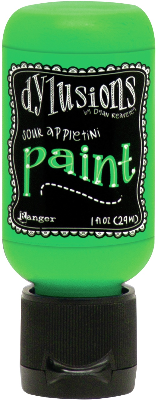 Dylusions Acrylic Paint 1oz-Sour Appletini