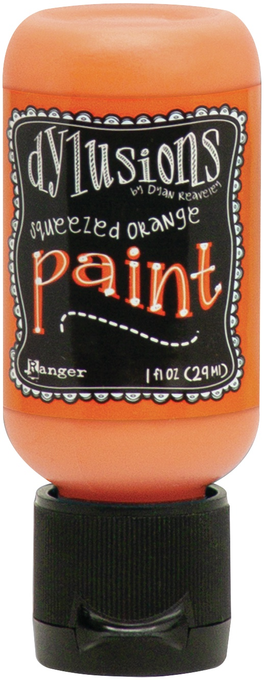 Dylusions Acrylic Paint 1oz-Squeezed Orange