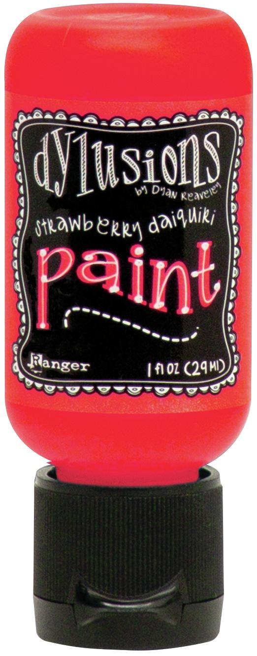 Dylusions Acrylic Paint 1oz-Strawberry Daiquiri