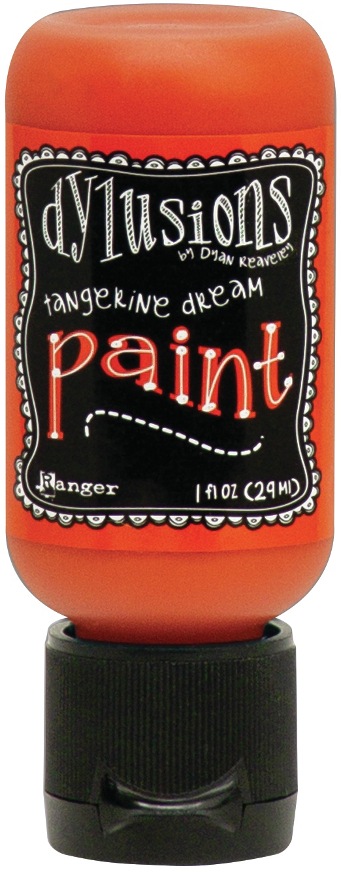 Dylusions Acrylic Paint 1oz-Tangerine Dream