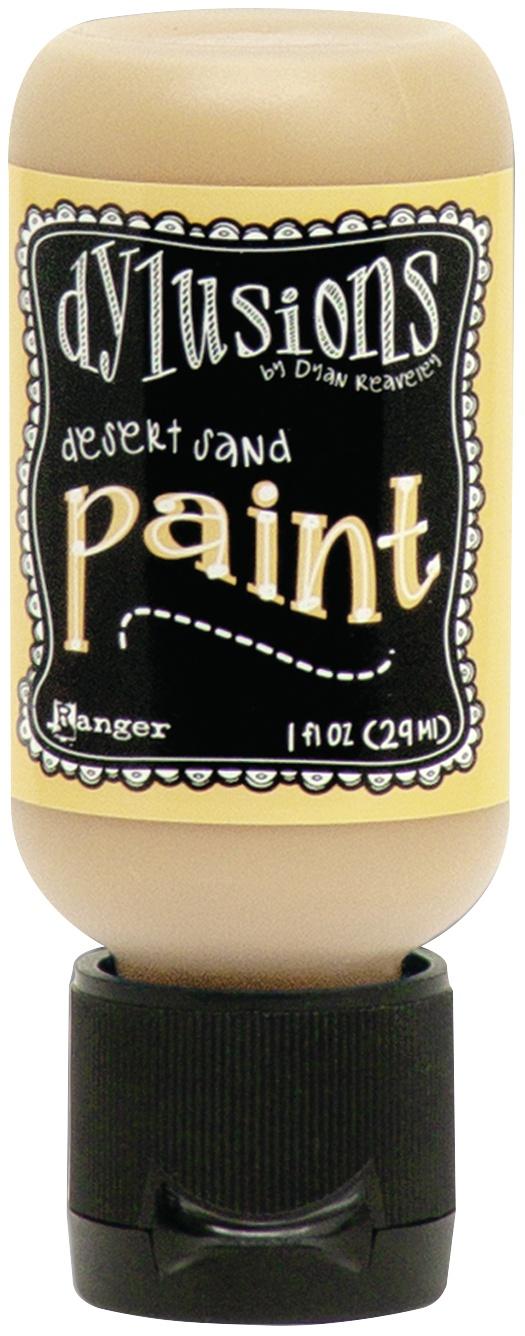 Dylusions Acrylic Paint 1oz-Vanilla Custard
