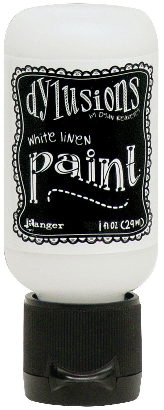 Dylusions Acrylic Paint 1oz-White Linen